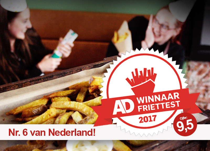 Perron 3 trots op eigen friet | Alphen | AD.nl